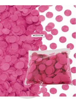 Sachet 50g confetti fuchsia 2.5cm