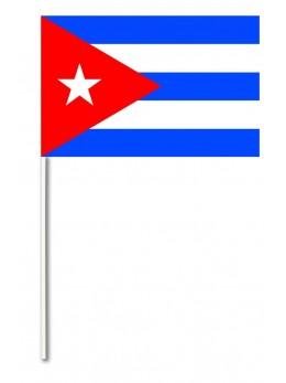 10 Drapeaux papier Cuba