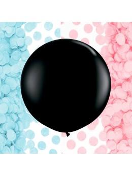 Ballon XL fille ou garçon + confetti
