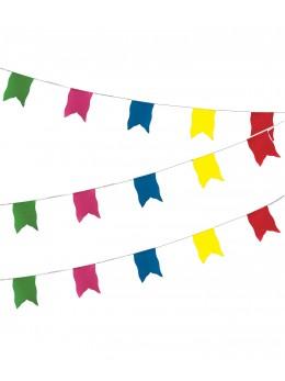 Guirlande oriflamme luxe 10m multicolore
