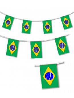 Guirlande pavillon brésil 10m