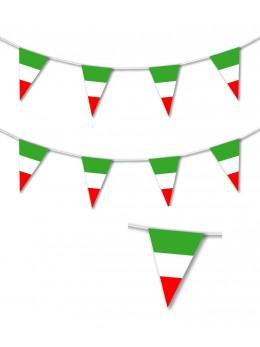 Guirlande fanions Italie luxe 10m