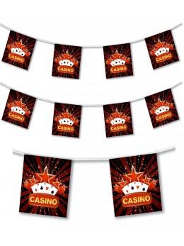 Guirlande casino 4m