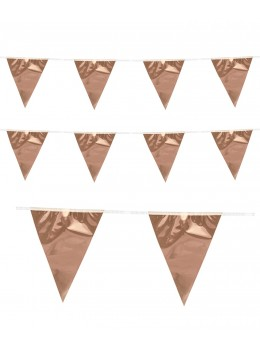 Guirlande triangle rose gold 10m