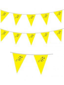 Guirlande vélo de course jaune