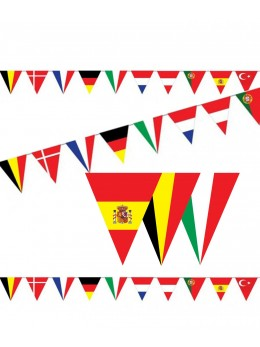 Guirlande fanion 10 Pays Européens