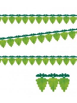 Guirlande raisin verte papier luxe