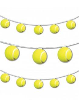 Guirlande 8 balles de Tennis