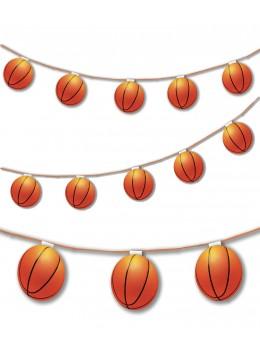 Guirlande 8 ballons de basket