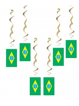 6 Suspensions thème Brésil