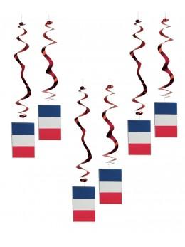 6 Suspensions thème France