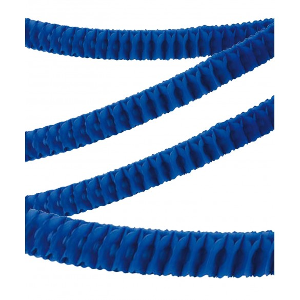 Guirlande papier ignifugée bleu roi