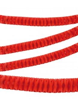 Guirlande papier ignifugée rouge