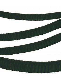 Guirlande papier ignifugée noire