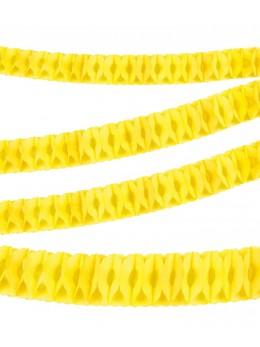 Guirlande papier ignifugée jaune