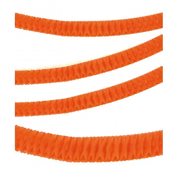 Guirlande papier ignifugée orange