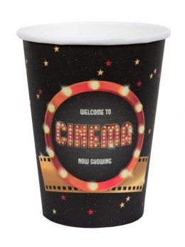 10 gobelets Hollywood Cinéma