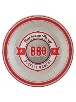 10 Assiettes BBQ party
