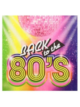 20 Serviettes back to the 80's