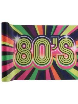 Chemin de table 80's multicolore