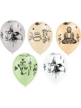 8 ballons Zen Japon