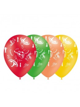 8 ballons fiesta mexicaine