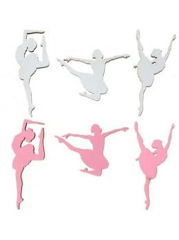 Sachet 10 confetti ballerine