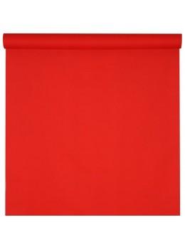 Nappe non tissé spunbound rouge 10m