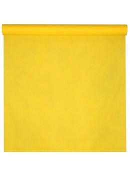 Nappe non tissé spunbound jaune 10m