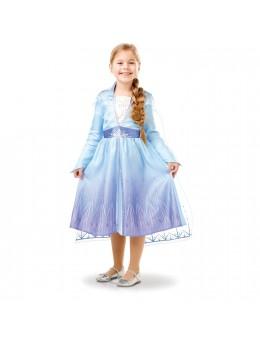 Déguisement classique Elsa Frozen 2 La reine des Neiges™ enfant