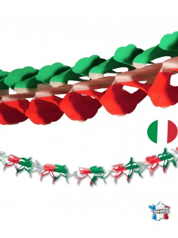 Guirlande papier nation Italie