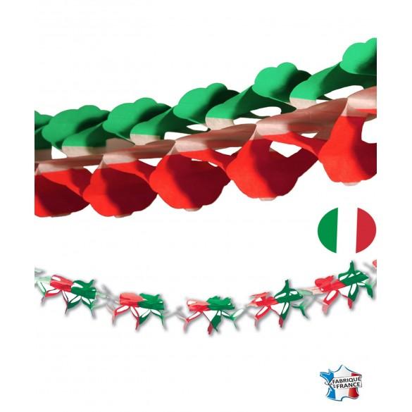 Guirlande papier nation Italie