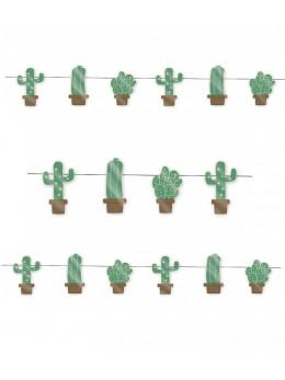 Guirlande cactus 3m