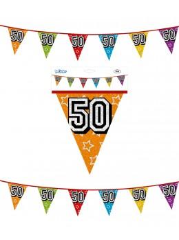 Guirlande age 50 ans