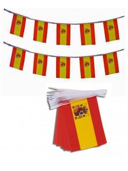 Guirlande Espagne tissu 5m