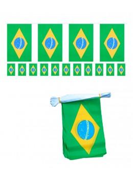 Guirlande Brésil tissu 5m