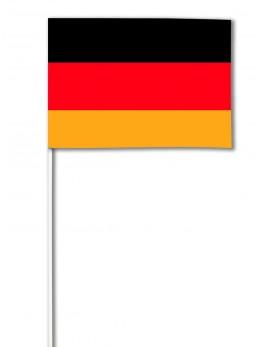 10 Drapeaux papier Allemagne