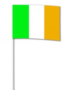 10 Drapeaux papier Irlande