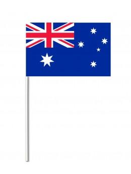 10 Drapeaux papier australie