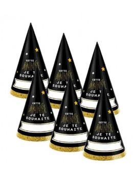 """6 chapeaux """"cette année je te souhaites"""""""