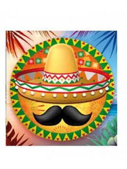 Ballon alu Mexicain 45cm