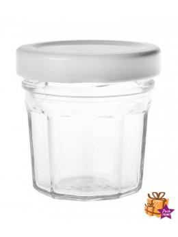 144 Pots à dragées bocal transparent