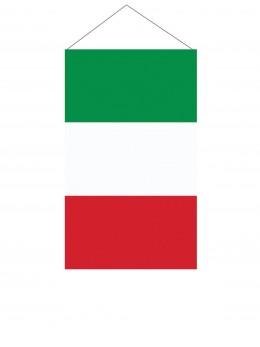 Drapeau suspendu Italie 60cm