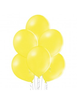 8 Ballons Jaune 30cm