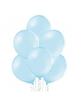 8 Ballons Bleu ciel 30cm
