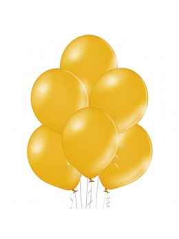 6 Ballons Or nacré 30cm