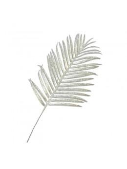 Feuille de palmier argent 46cm