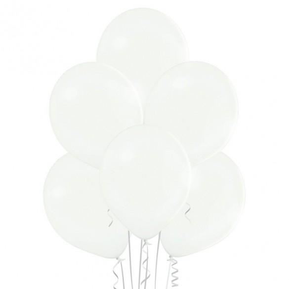 20 ballons blanc