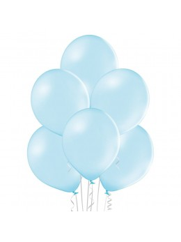 20 ballons bleu pale