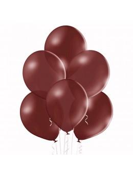 20 ballons bordeaux